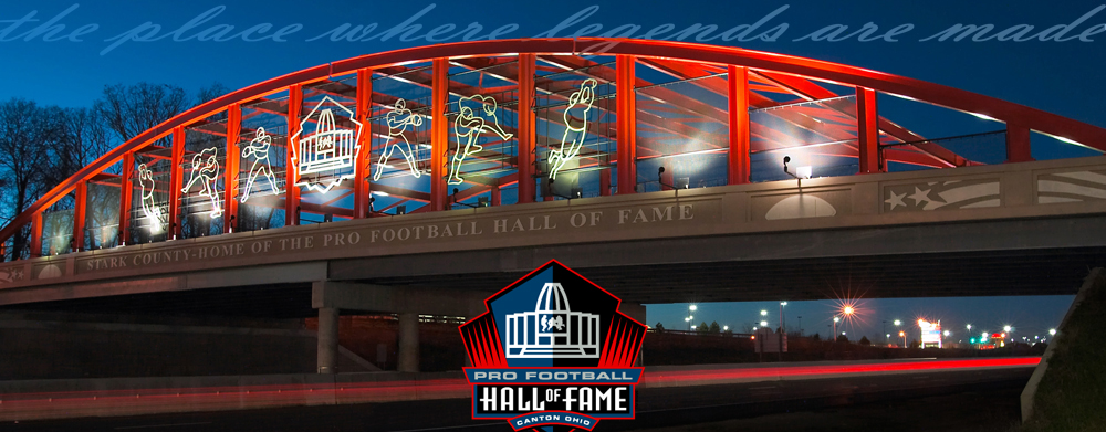Hall of Fame Canton, Ohio Bridge Design, WRL Advertising